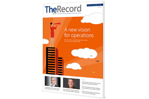 PayiQ in the Autumn Edition of the Record