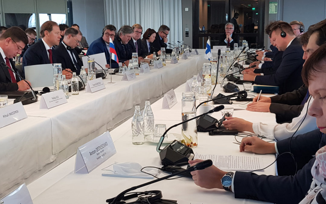 PayiQ CEO Pirkka Lankinen took part in the meeting of the Intergovernmental Russian-Finnish Commission on Economic Cooperation